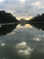 View of Lincoln Memorial, Washington D.C.